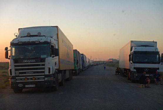 Van Oezbekistan naar Kazachstan
