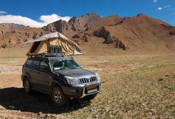 Kamperen in Tibet