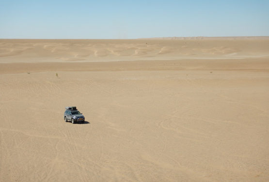 Romantisch sterren kijken in de woestijn
