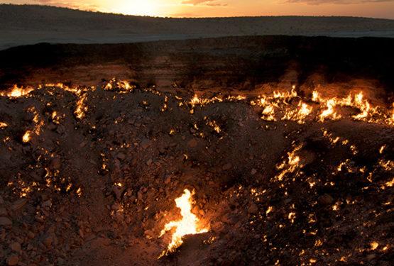 Van Asjchabad naar de poort van de hel